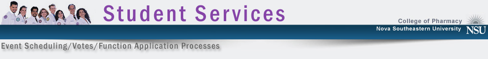 student services web page header